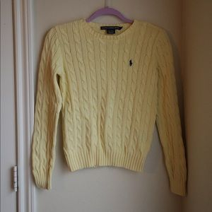 Yellow Polo Sweater